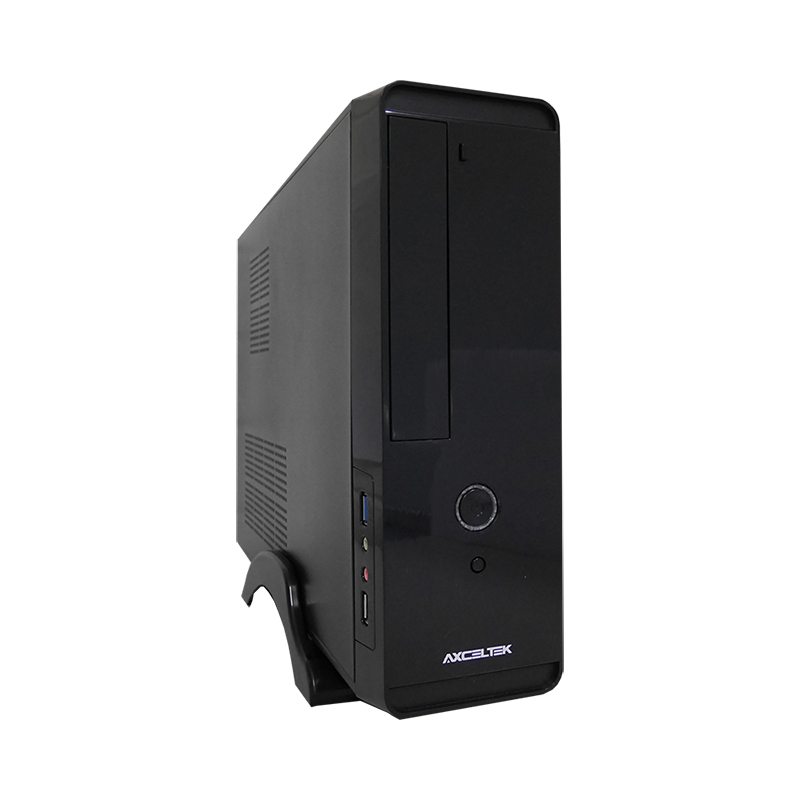 Axceltek MI-100 Slim Case with 400W PSU, USB3
