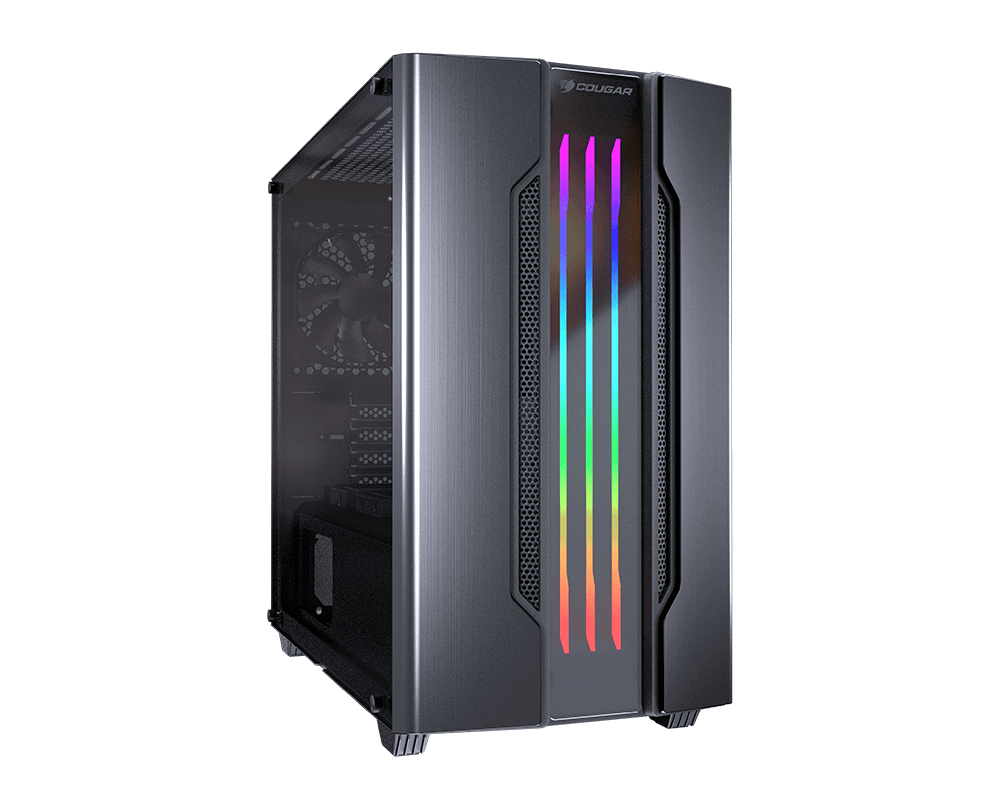 Cougar Gemini-M Grey RGB Mini Tower Case