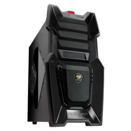 Cougar 6HM6 Challenger Midi Tower Gaming Case, USB3 (Black)