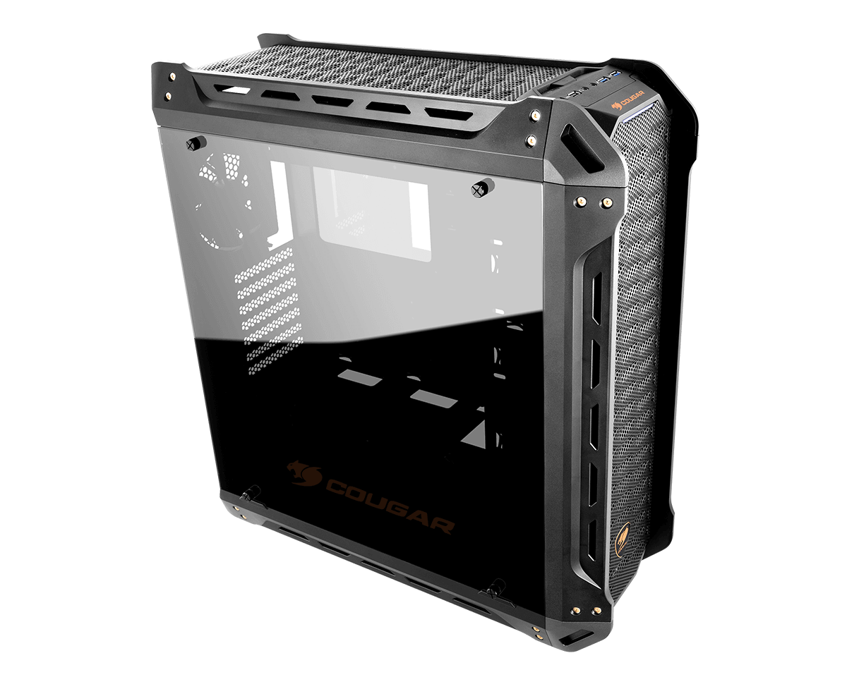 Cougar Panzer Mid Tower Gaming Case (Dual Tempered Glass)