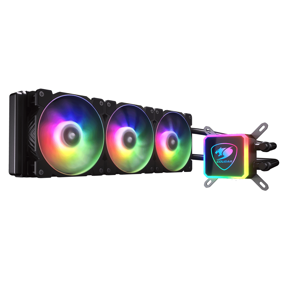 Cougar Aqua 360 ARGB AIO Water Cooling Kit, ARGB FAN