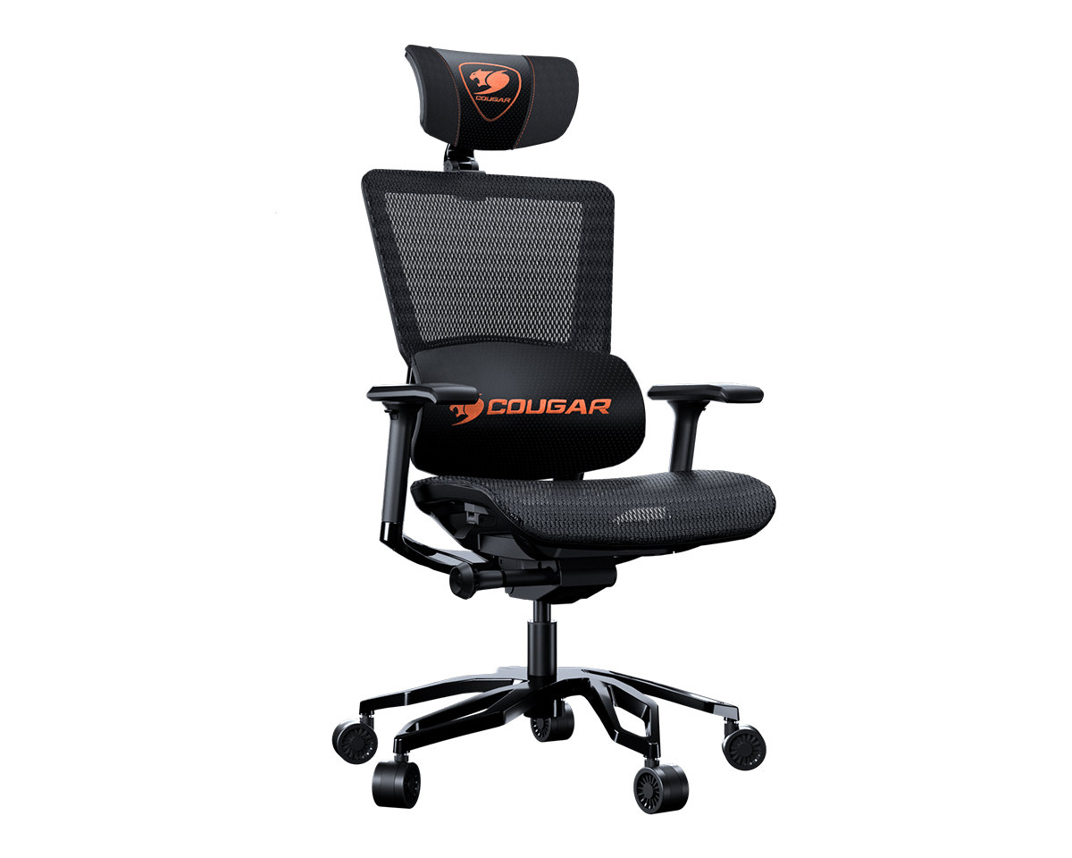Cougar Argo Black Ergonomic Aluminium Framed Gaming Chair