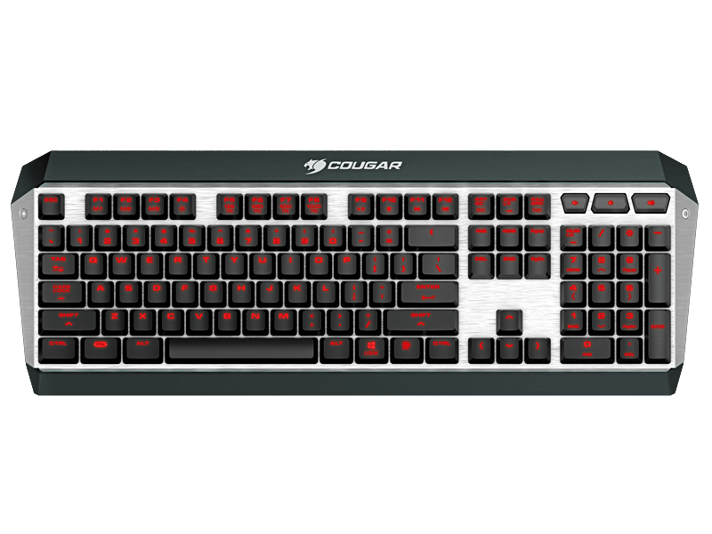 Cougar ATTACK X3 Mechanical Keyboard (Cheery Brown)
