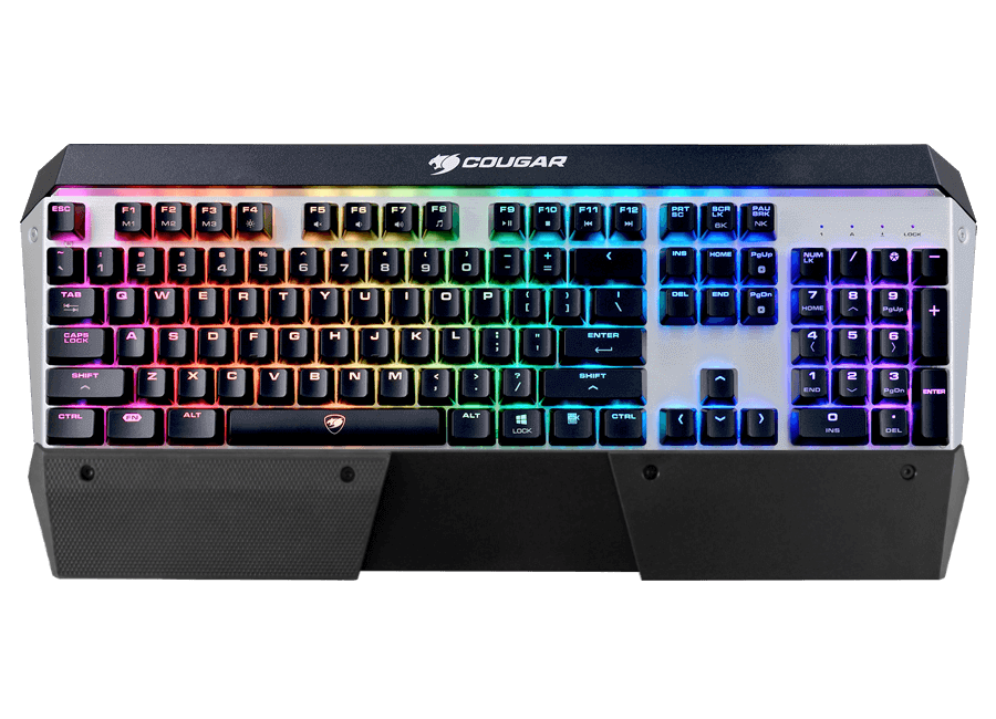 Cougar ATTACK X3 RGB Mechanical Keyboard (Cherry Red)
