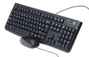 Logitech MK120 USB Wired Desktop (Keyboard & Mouse)