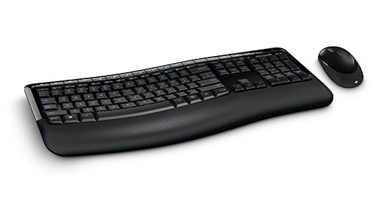 Microsoft Wireless COMFORT Desktop 5000 BlueTrack Keyboard