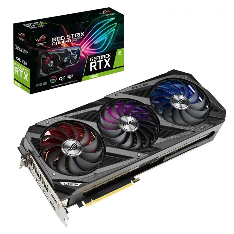 Asus ROG-STRIX-RTX3080-O10G-GAMING HDMI/DP (1935MHz)