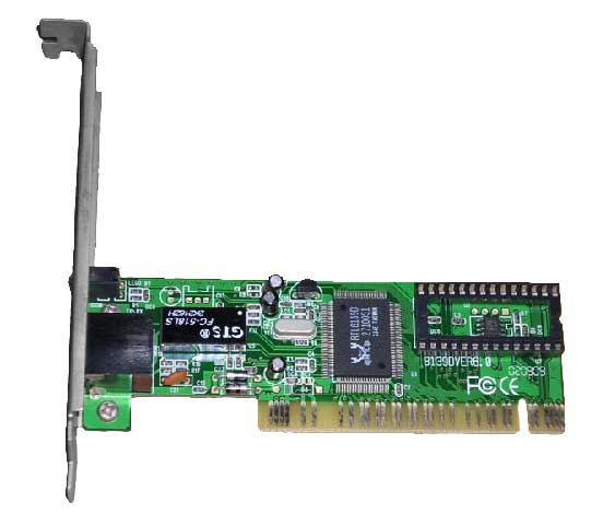 Generic 10/ 100 Network LAN PCI Card